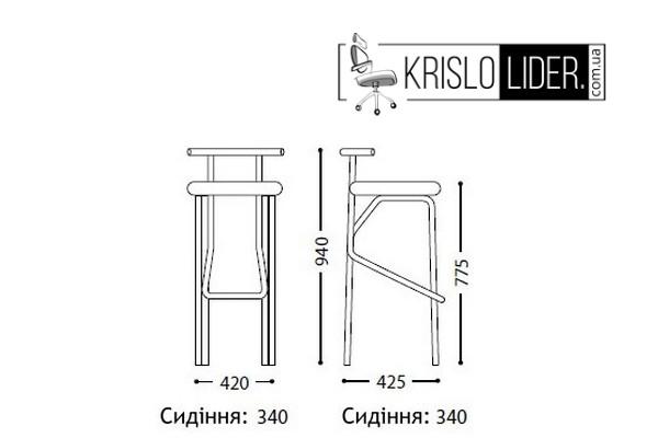Крісло Jola chrome - 5