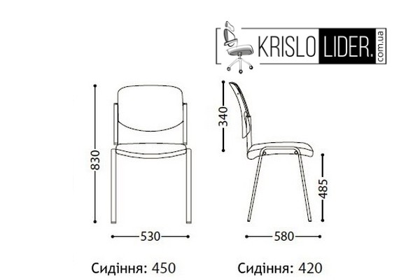 Крісло Era black - 1