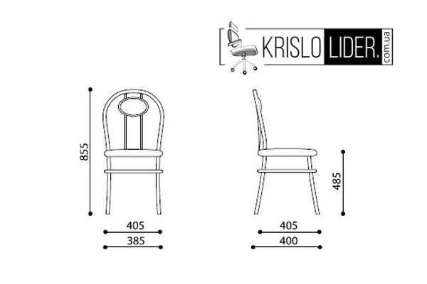 Крісло Tiziano chrome - 7