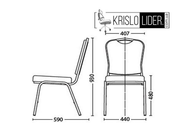 Крісло BC-11 Gold - 2
