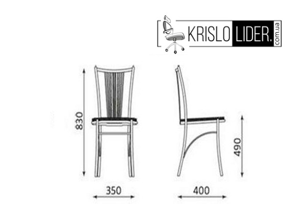 Крісло Fosca chrome - 5