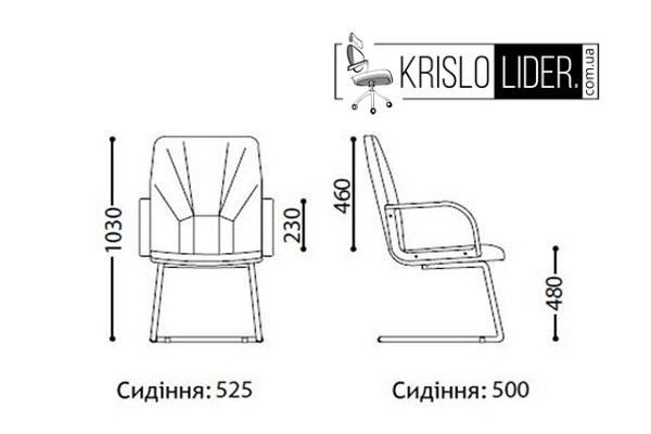 Крісло Manager extra CF LB - 3