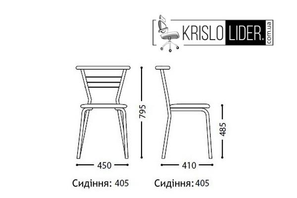 Крісло Marco chrome - 4