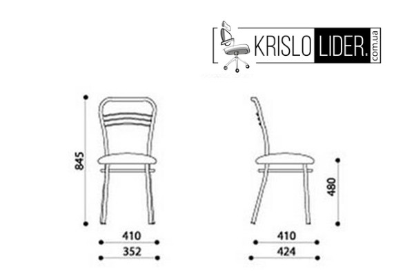 Крісло Argento chrome - 4