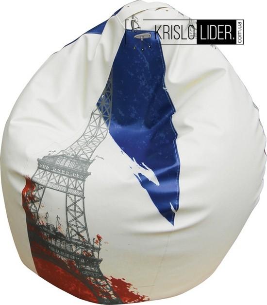 Крісло-груша Bubble з прінтом - 4