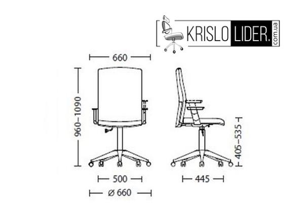 Крісло Cubic GTP - 4